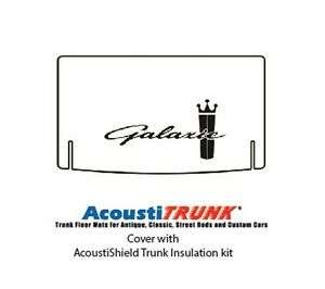 1965 Ford Trunk Rubber Floor Mat Cover With F 065 Galaxie
