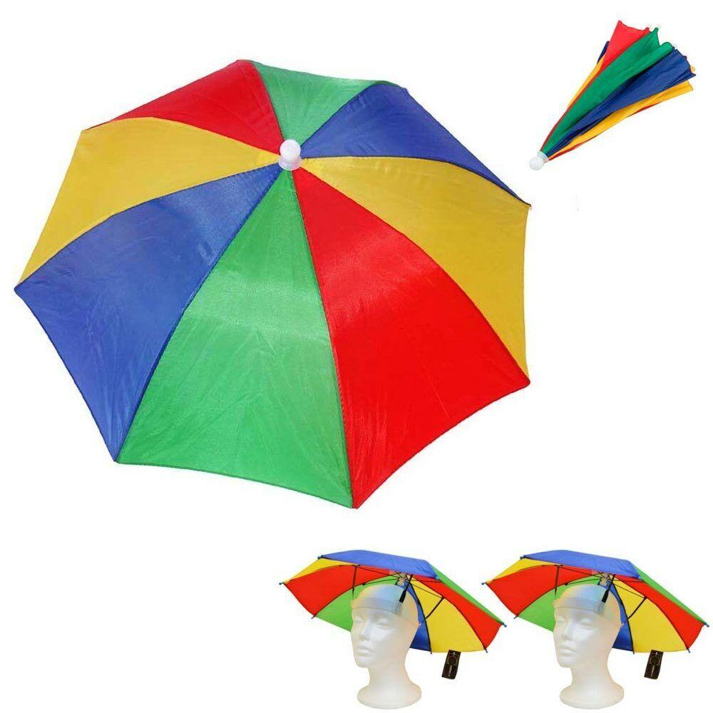 2 Sonne Schirm Hut Außen Regen Hot Faltbar Mütze Camping Angeln Golfkappe