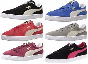 PUMA-Men-039-s-Suede-Classic-Sneaker-Shoe