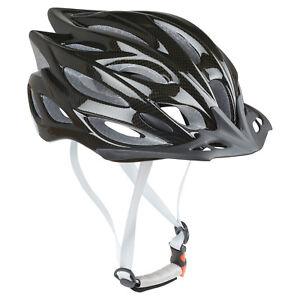 Pedalpro-Fibra-Di-Carbonio-Effetto-BICI-CASCO-VISIERA-amp-LED-Luce-Bicicletta-ciclo-MTB