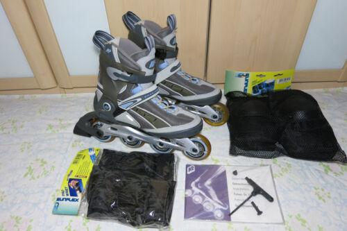 Gr 41,5 Inliner Skates K2 FREEDOM inkl Schoner  NP 179,90