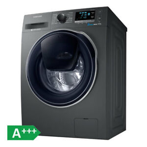 samsung ww80k6404qx eg waschmaschine a anthrazit 8kg 1400u min addwash 8806088193786 ebay. Black Bedroom Furniture Sets. Home Design Ideas