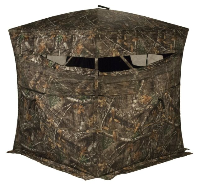 New Rhino Blinds Standard Realtree Edge Camo Hunting Blind Model R150-RTE