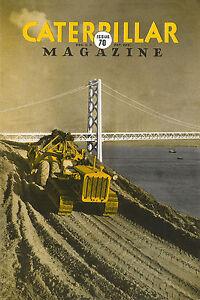 Caterpillar Vintage Magazine No 70 1938 Golden Gate