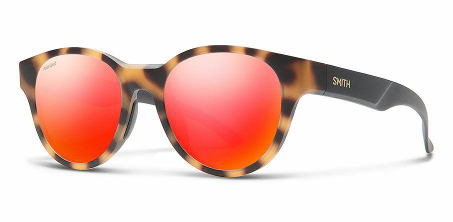 Smith Snare Polarized  rosso Mirror Lens Matte Honey Tortoise Frame Sunglasses  fabbrica diretta