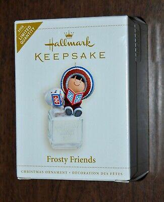 Hallmark FROSTY FRIENDS limited COLORWAY 2006 NIB
