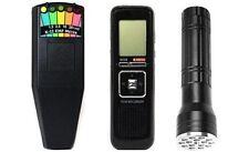 Ghost Hunting K-II K2 Meter EMF Detector + Flashlight + 8GB EVP Recorder 3KIT