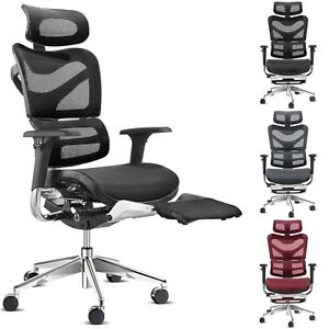 Ergonomischer bürostuhl  Details zu Diablo V-Master Ergonomischer Bürostuhl Chefsessel  Schreibtischstuhl Drehstuhl