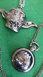 Star-whars-034-Yoda-034-colgante-metalico-y-reloj-nuevos-con-pila-de-repuesto