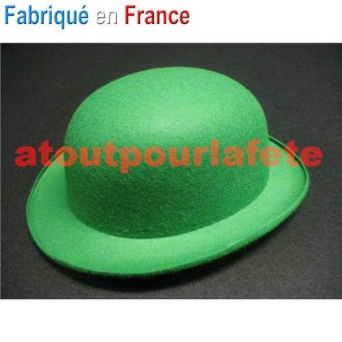 Chapeau de Clown ENFANT,Melon couleur,Cirque,Accessoires,Déguisement,Fête