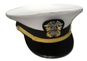 2fb34d3b Details about USA Navy officer Hat