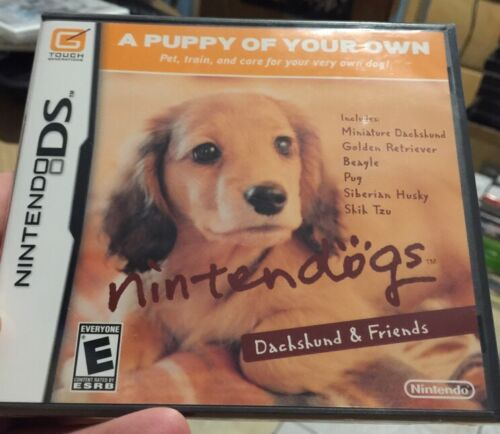 1 of 1 - NINTENDO DS *** Nintendogs: Dachshund & Friends *** SEALED Brand New !