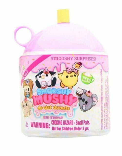 X SMOOSHY MUSHY SURPRISE DONUTS FroYo PETS LOT OF 6 Easter Basket Toys Smushy