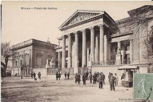 Cpa Nimes - Palais de Justice