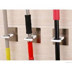 Wall-Mounted-Rack-Bath-Storage-Mop-Organizer-Holder-Brush-Broom-Hanger-LA