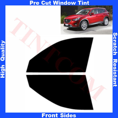 Pre Cut Window Tint Mazda CX5 5 Doors 2013- ... Front Sides Any Shade