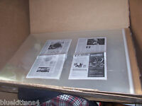 5 24x30 + Acid Free Art Poster Lobby Card Archival Storage Cellophane Envelope