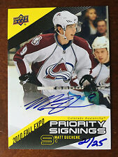 2010 Upper Deck Priority Signings Fall Expo Autograph Matt Duchene Auto 20/25