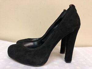 f1fe5b1029 DV DOLCE VITA Womens Black Suede High Heels Pumps Shoes size US 8 | eBay