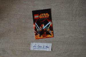 ₪ PAS DE JEU ₪ Notice Lego Star Wars sur Playstation 2 PS2 - FR