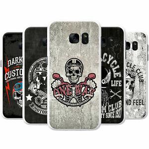 Motor-Club-Biker-Motorbike-Rider-Skulls-Hard-Case-Phone-Cover-for-Samsung-Phones