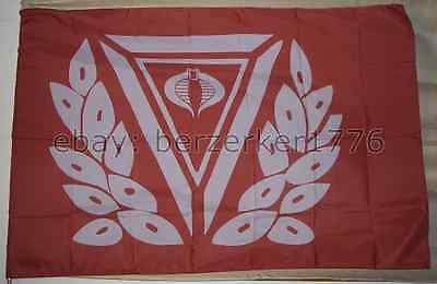 Joe Cobra 3/'x5 Flag Banner USA Seller Shipper Crimson Guard G.I