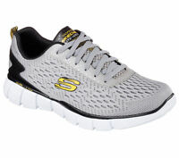 SKECHERS EQUALIZER 2.0 AIR COOLED UOMO SCARPE MEMORY FOAM LEGGERE 51529/GYYL NEW