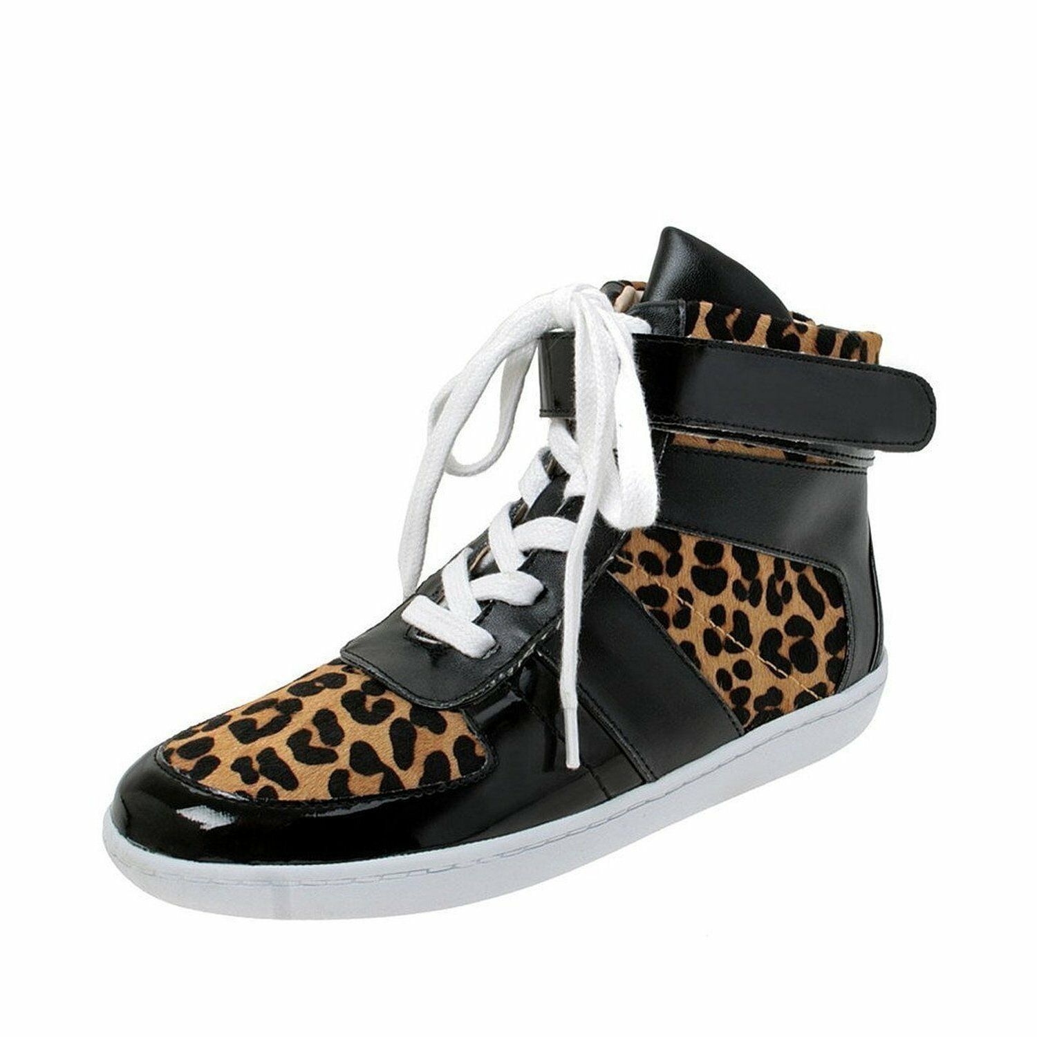 Nine West ROKSTAR Pony Hair Lace Up High Top Sneakers  (Women)