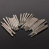 30pcs/Set 3mm Diamond Burr Glass Drill Bits for Engraving Rotary Tool Shanks yo