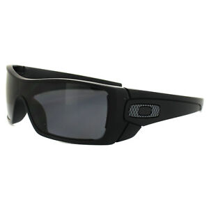 aa866ae2ea4 Image is loading Oakley-Sunglasses-Batwolf-OO9101-04-Matt-Black-Grey-