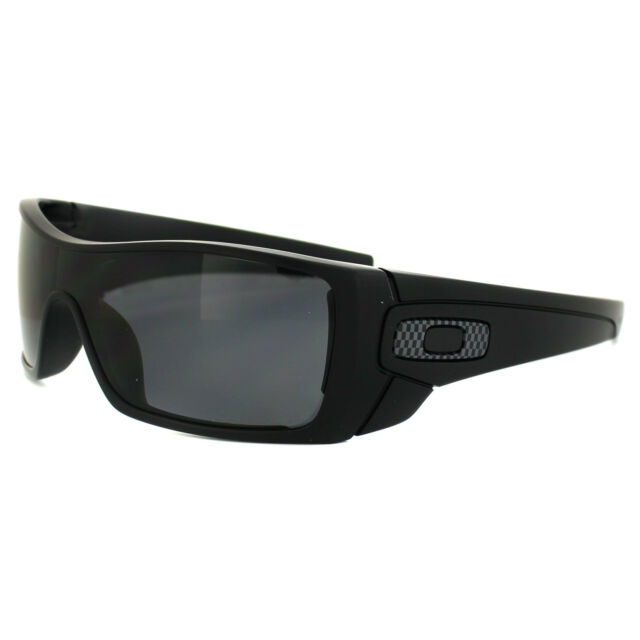 Oakley Sunglasses Batwolf OO9101-04 Matt Black Grey Polarized