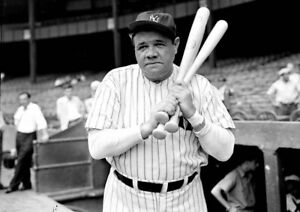 Babe-Ruth-New-York-Yankees-UNSIGNED-8x10-Photo