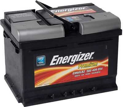 Batterie Energizer Premium 60Ah540A (EM60 LB2) | eBay