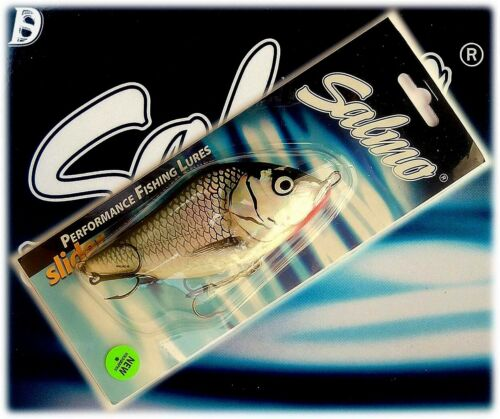 New on Card Salmo Slider Floating 4 1//2´´ color HGS 2 1//8 oz