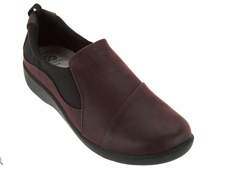 Cloudsteppers by Clarks Slip On Schuhe Paz Sillian Paz Schuhe 07 EU 41 LN084 mm ... dcaa98