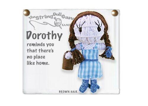 Kamibashi Wizard of Oz Dorothy The Original String Doll Gang Keychain Clip