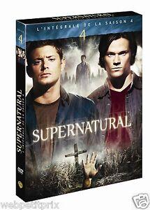 Supernatural-L-039-integrale-de-la-Saison-4-DVD-VF-NEUF