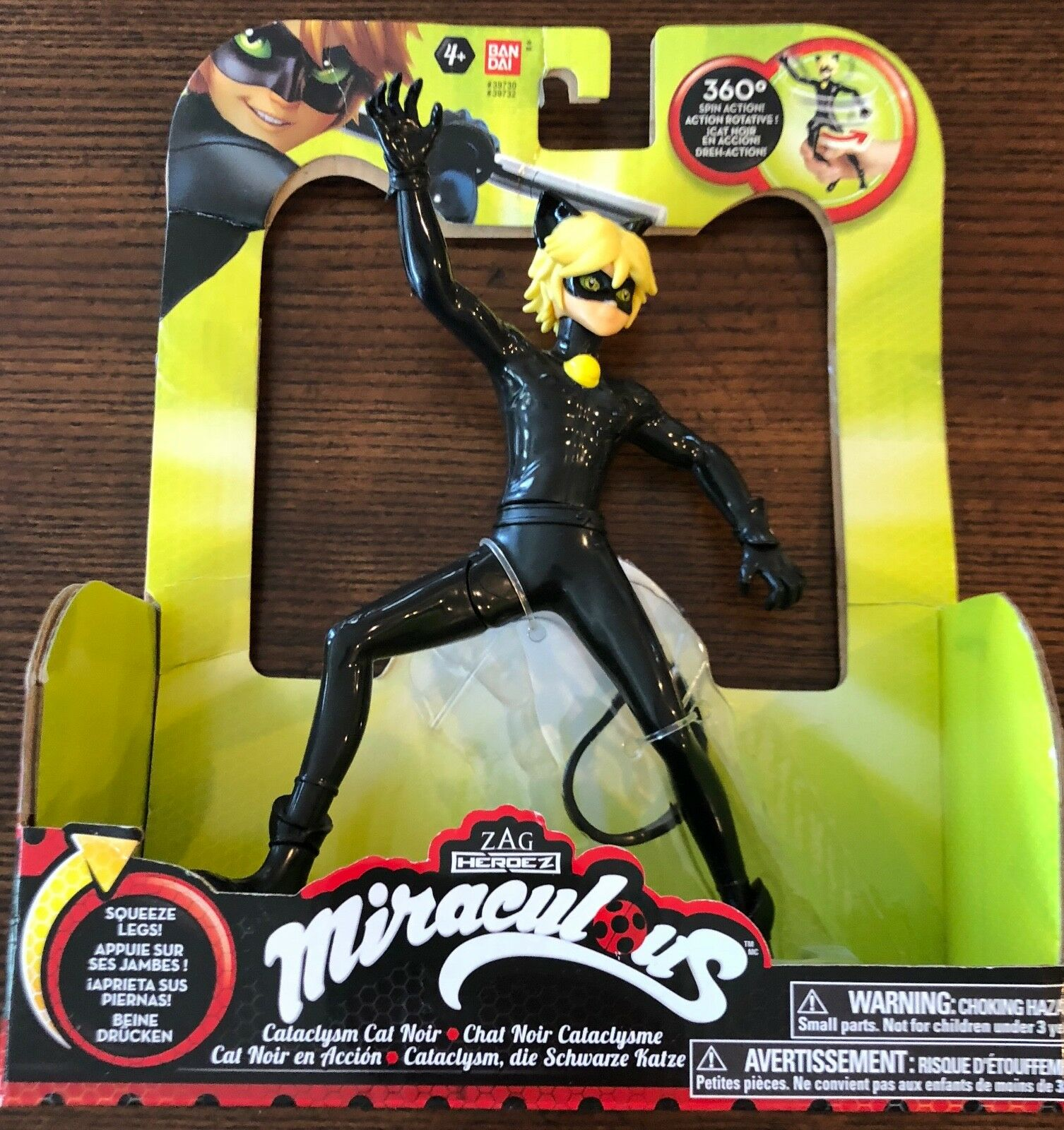Zag Heroez Miraculous Ladybug Ladybug Ladybug Cataclysm Cat black Figure 7.5  Toy Licensed 2748ea