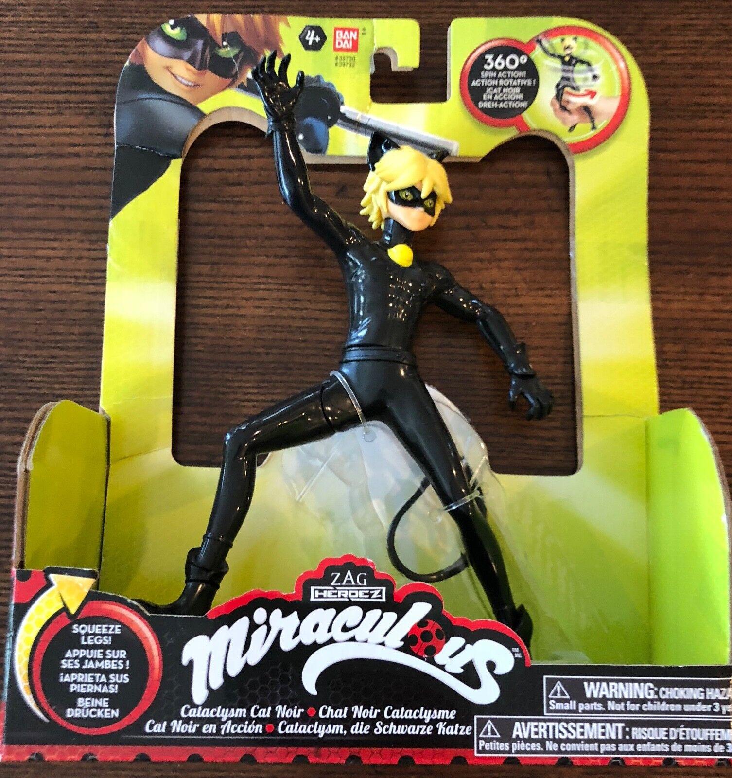 Zag Heroez Miraculous Ladybug Cataclysm Cat black Figure 7.5  Toy Licensed