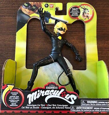 Miraculous 7.5-Inch Cataclysm Cat Noir Ladybug Action Doll