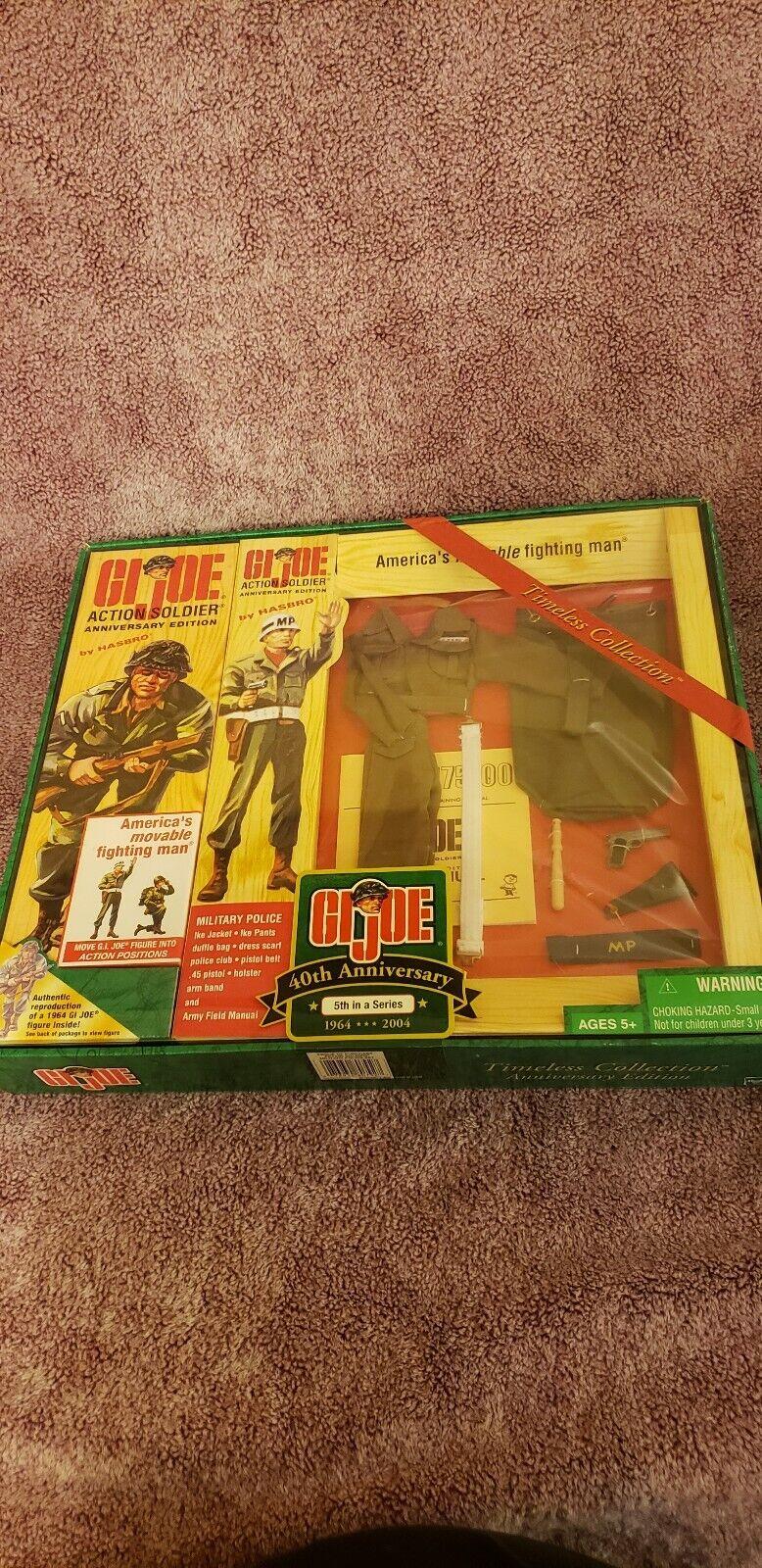 Gi Joe Soldado de acción 40th Anniversary Edition, policía militar 5th en una serie