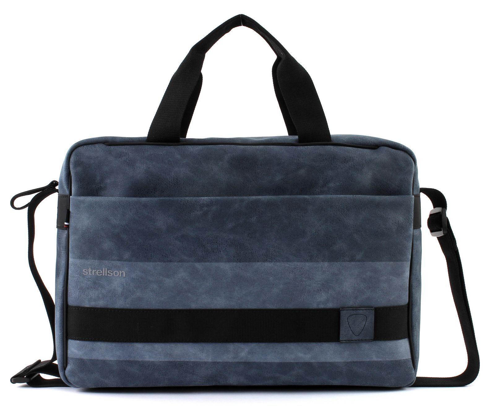 Strellson Finchley BriefBag MHZ Umhängetasche Tasche Dark Blau Blau Neu | Meistverkaufte weltweit  | Für Ihre Wahl  | Schön und charmant