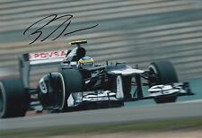 Bruno Senna Hand Signed 12x8 Photo Williams F1 2.