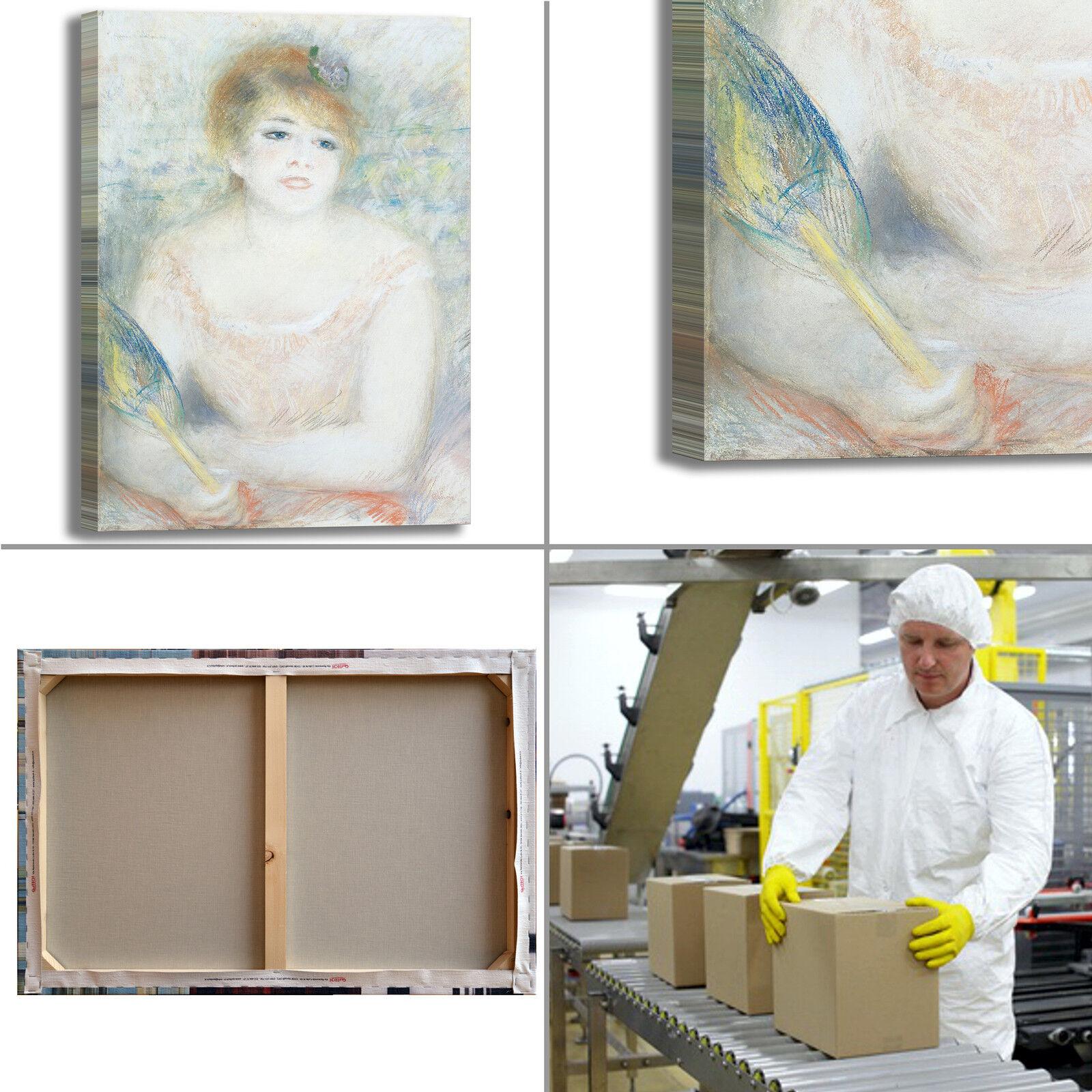 Renero Jeanne Samary design design design quadro stampa tela dipinto telaio arrossoo casa 7069c3