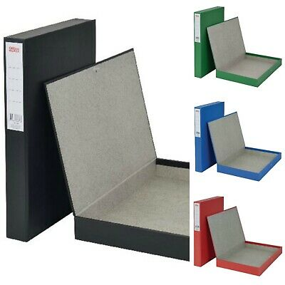 10 x A4 BOX FILING BLACK £3.85 each FREE DELIVERY