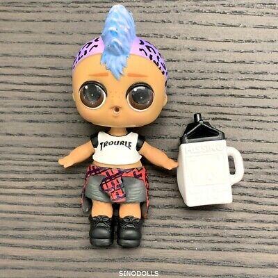 no bag LOL Surprise Lil Punk Boi boy Confetti Pop Series 3 Wave 2 doll