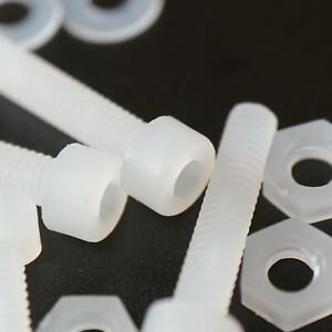 10-x-brugola-in-PVDF-testa-esagonale-viti-per-macchine-in-plastica-M4-x-20mm