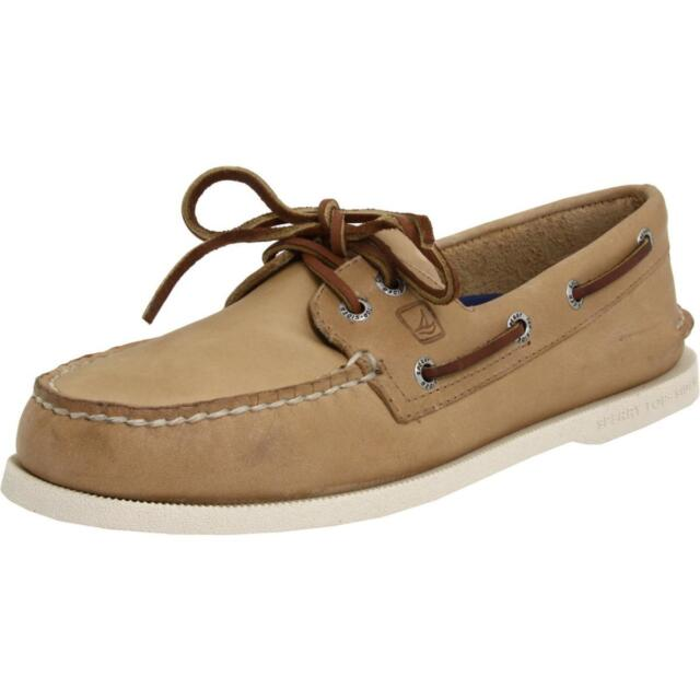 d06a2f98e03a Sperry Top-sider Authentic Original Mens Oatmeal Boat Shoes 11 2e US ...