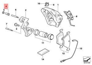 BMW Genuine Repair Kit Guide Bush