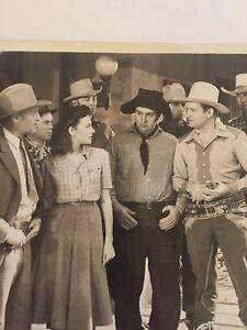 Vintage Studio Photo Gene Autry Smiley Burnette Republics Cowboy Serenade 1942